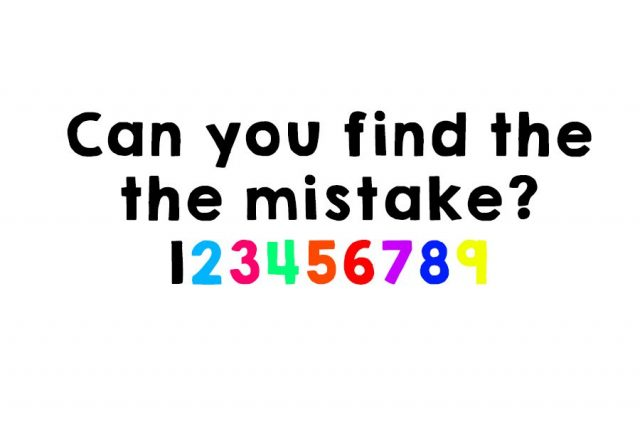 Are You Smart Enough To Spot The Mistake In This Picture?